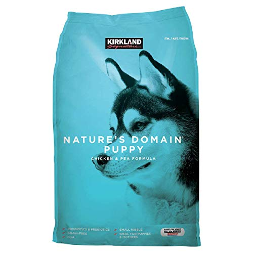 Kirkland Signature Nature's Domain Puppy Formula Chicken & Pea Dog Food 20 lb.