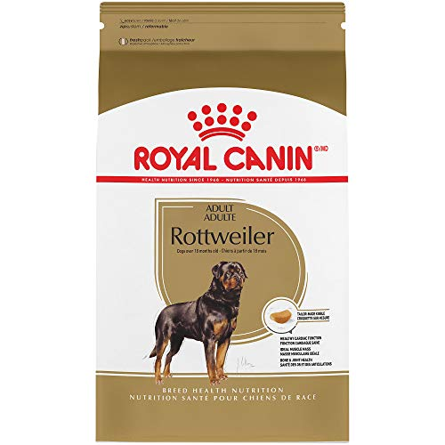 Royal Canin Breed Health Nutrition Rottweiler Adult Dry Dog Food, 30-Pound