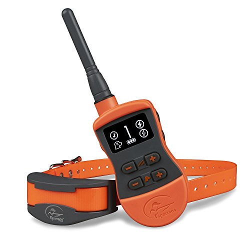 SportDOG Brand SportTrainer Remote Trainers - Bright, Easy to Read OLED Screen - Up to 3/4 Mile Range - Waterproof,...
