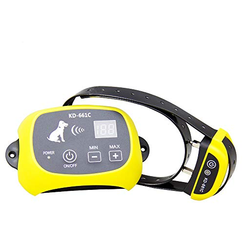 Depps Wireless Dog Fence System with Rechargeable Transmitter and Rechargeable Collar Receiver - Safe & Easy Install...