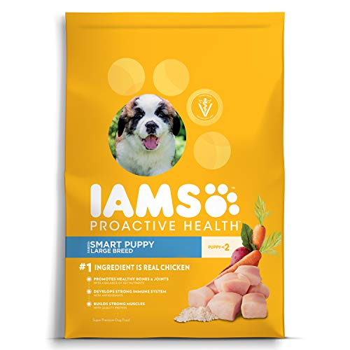 Iams Proactive Health Smart Puppy Large Breed Dry Dog Food Chicken, 38.5 Lb. Bag