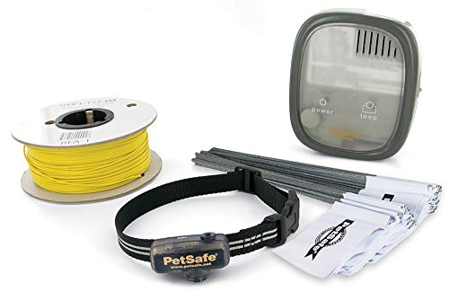 PetSafe Elite Little Dog In-Ground Fence for Dogs and Cats, Waterproof, Tone and Static Correction, for Pets Over 5 lb.