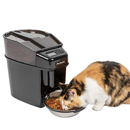 PetSafe Healthy Pet Simply Feed - Automatic Dog and Cat Feeder - Slow Feed Setting - Portion Control
