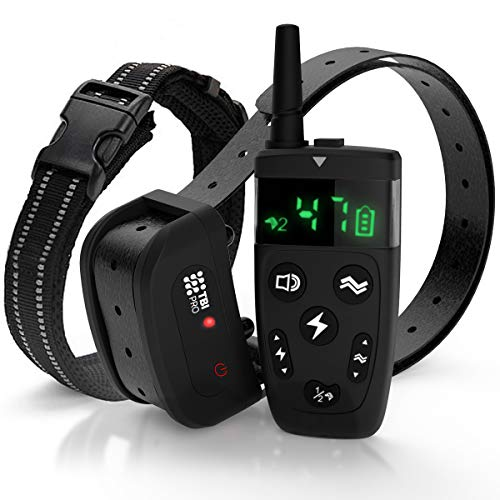 All-New 2019 Dog Training Collar with Remote | Long Range 1600', Shock, Vibration Control, Rechargeable & Ipx7...