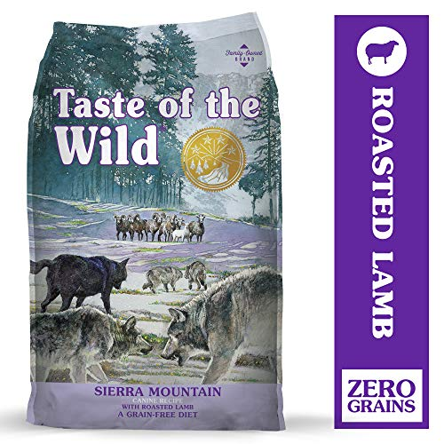 Taste of the Wild High Protein Real Meat Recipe Dry Dog Food with Real Roasted Lamb and Ancient Grains
