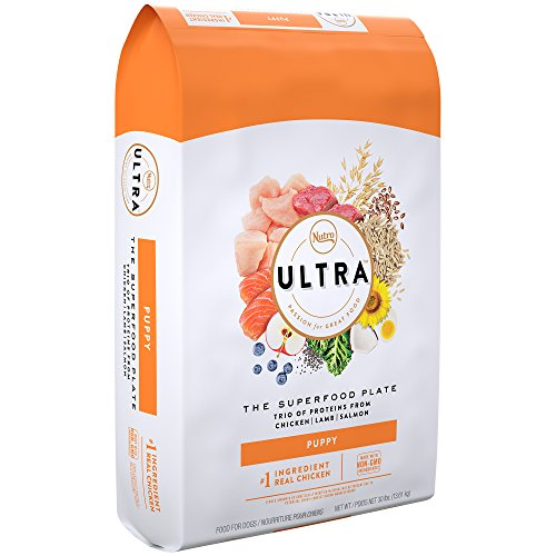 Nutro Ultra Puppy Dry Dog Food With A Trio Of Proteins From Chicken, Lamb And Salmon, 30 Lb. Bag