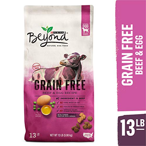 Purina Beyond Grain Free, Natural Dry Dog Food, Grain Free Beef & Egg Recipe - 13 lb. Bag