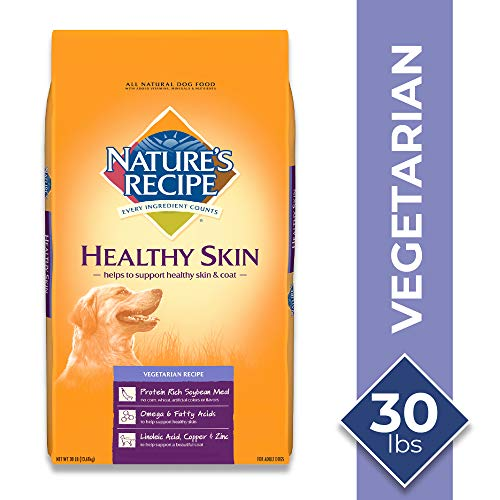 Nature's Recipe Healthy Skin Vegetarian Recipe Dry Dog Food, 30 Pounds