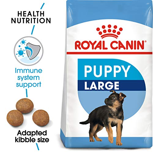 Royal Canin Size Health Nutrition Large Puppy Dry Dog Food, 35-Pound