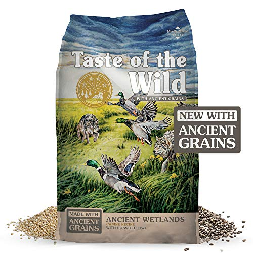 Taste of the Wild Grain Free High Protein Real Meat Recipe Wetlands Premium Dry Dog Food 28lb