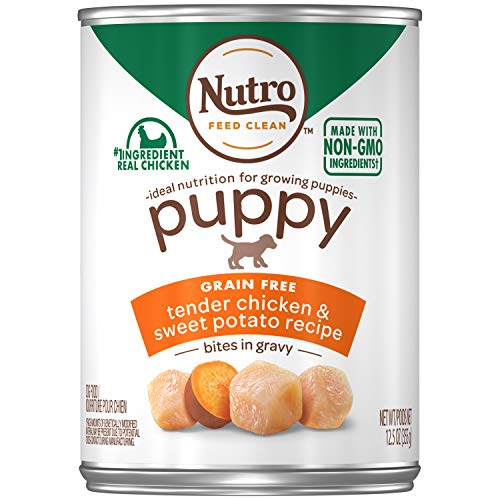 Nutro Puppy Natural Wet Dog Food, (12) 12.5 oz. Cans