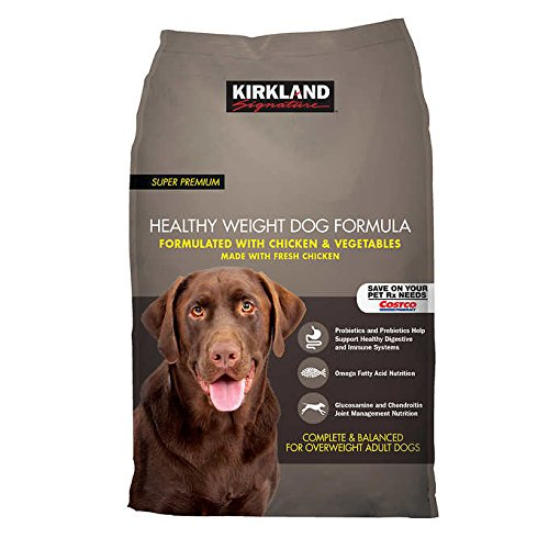 Kirkland Signature Healthy Weight Formula Chicken & Vegetable Dog Food 40 lb