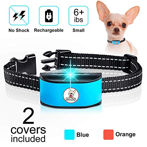 Prollipop Small Dog Bark Collar Rechargeable - Anti Barking Collar No Shock Bark Collar - Waterproof, No Shock Collar...