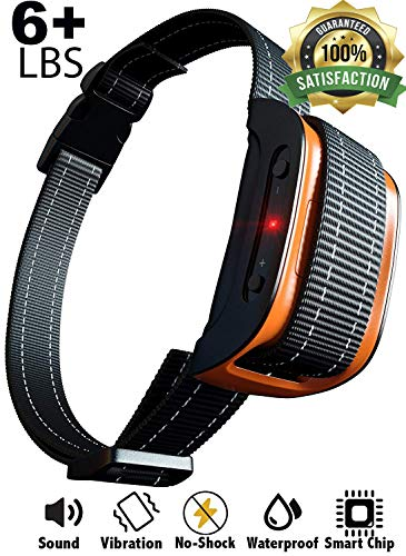 Bark Collar [2020 Superhuman CHIP] Best for Small Medium Large Dogs, Most Effective Anti Bark Device 7 Sound and Vibro...