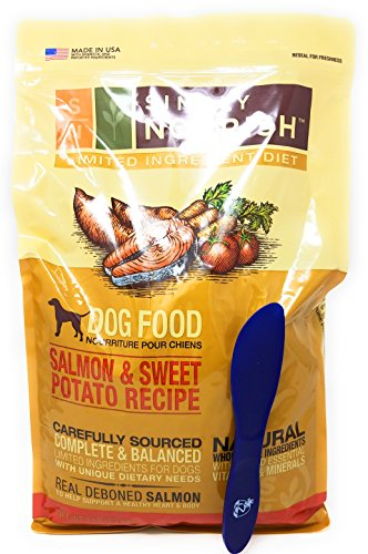 Simply Nourish Adult Sweet Potato and Salmon Dry Dog Food, Natural Ingredients - 5lbs and Especiales Cosas Mixing...