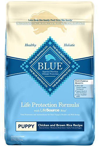 Blue Buffalo Life Protection Formula Puppy Dog Food - Natural Dry Dog Food for Puppies - Chicken and Brown Rice - 30 lb....