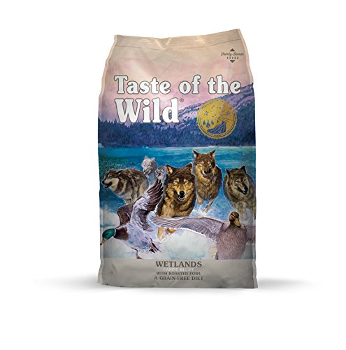 Taste of the Wild Grain Free High Protein Real Meat Recipe Wetlands Premium Dry Dog Food