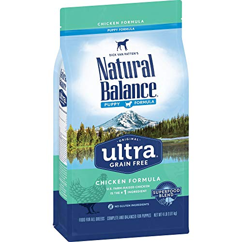 Natural Balance Original Ultra Chicken, Brown Rice & Duck Meal Formula Dry Puppy Food, 28 Pounds