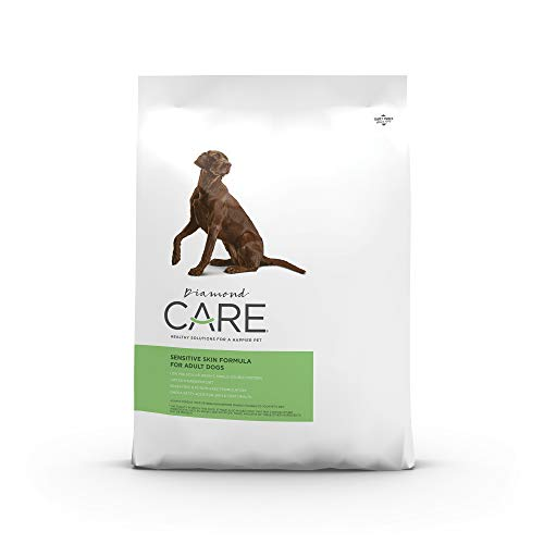 DIAMOND CARE Grain-Free Formulation Adult Dry Dog Food for Sensitive Skin Specially Made as a Limited Ingredient Diet...