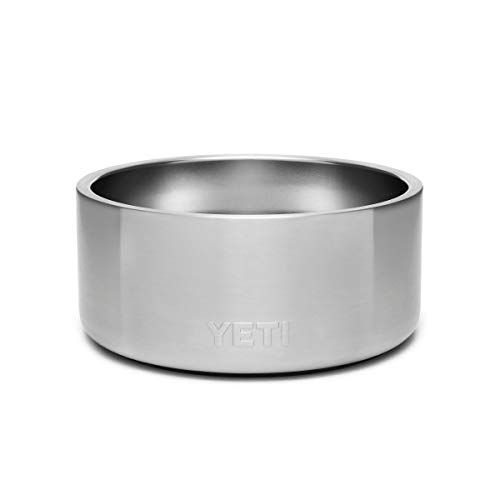 YETI Boomer 4 Stainless Steel, Non-Slip Dog Bowl, Stainless Steel (Renewed)