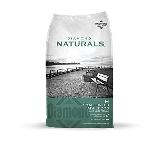 Diamond Naturals Small Breed Dog Real Lamb Recipe Premium Dry Dog food, 18 lb