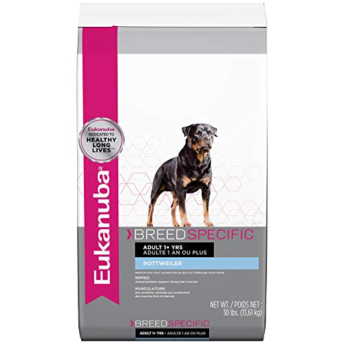 Eukanuba Breed Specific Rottweiler Dry Dog Food, 30 lb