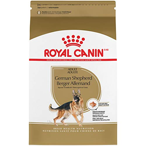 Royal Canin German Shepherd Adult Breed Specific Dry Dog Food, 30 pounds. bag