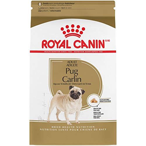 Royal Canin Pug Adult Breed Specific Dry Dog Food, 10 lb. bag