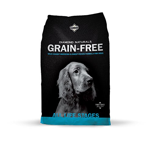 Diamond Naturals Grain Free Real Meat Recipe Premium Dry Dog Food with Real Fish 5lb