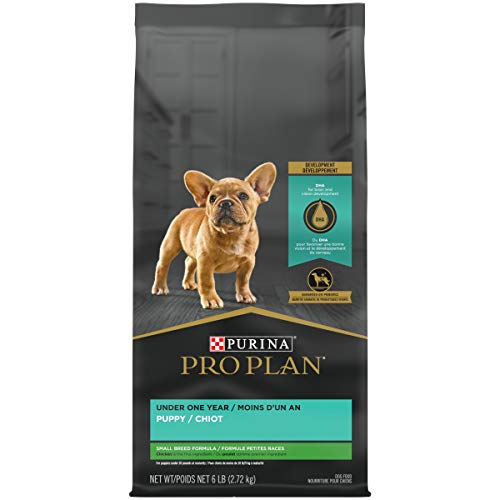 Purina Pro Plan High Protein Small Breed Dry Puppy Food, Chicken & Rice Formula - 6 lb. Bag