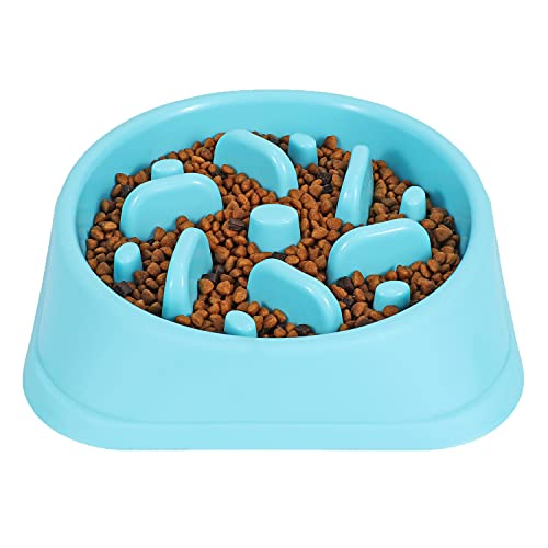 JASGOOD Dog Feeder Slow Eating Pet Bowl Eco-Friendly Durable Non-Toxic Preventing Choking Healthy Design Bowl for Dog...