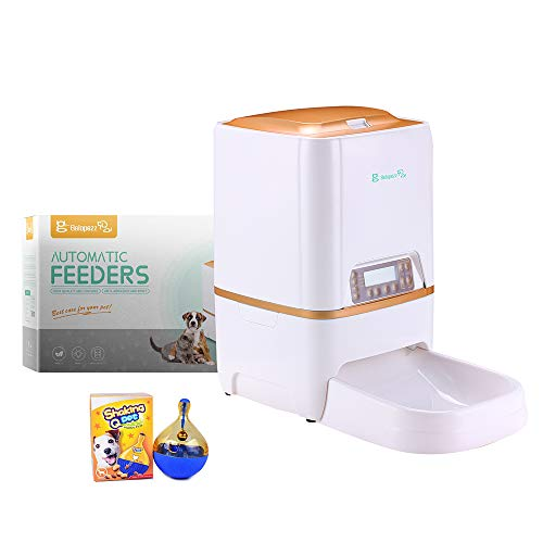 BELOPEZZ 6Liters Smart Pet Automatic Feeders for Dog and Cat Food Dispenser with Timer Programmable Up to 4 Meals per...