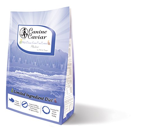 Canine Caviar Wild Ocean Grain Free Limited Ingredient Alkaline Holistic Entrée All Life Stages Dog Food – Herring...