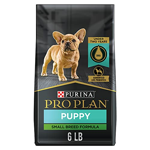 Purina Pro Plan High Protein Small Breed Puppy Food DHA Chicken & Rice Formula - 6 lb. Bag
