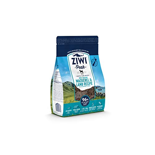 ZIWI Peak Air-Dried Dog Food – All Natural, High Protein, Grain Free & Limited Ingredient, with Superfoods (Mackerel &...