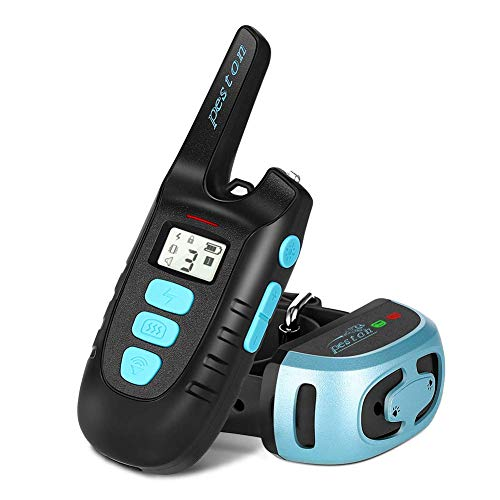 PESTON Dog Training Collar Rechargable 100% Waterproof Electric Vibration Beep Control Dog Shock Collars with Remote...