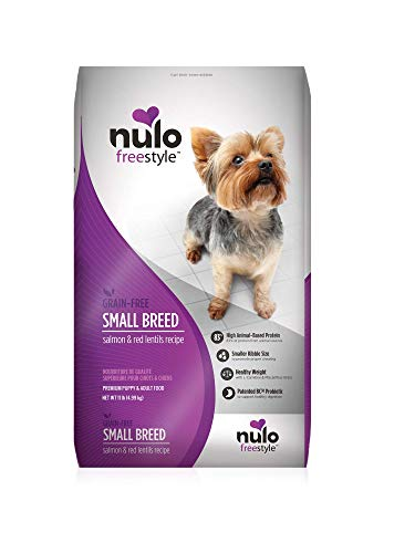 Nulo Small Breed Grain Free Dry Dog Food With Bc30 Probiotic (Salmon And Red Lentils Recipe, 11B Bag)