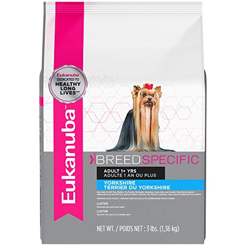 Eukanuba Breed Specific Yorkshire Terrier Dry Dog Food, 3 lb
