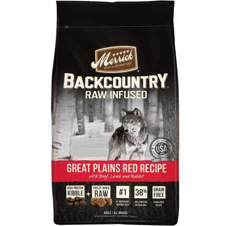 Merrick Backcountry Great Plains Red Recipe Dry Dog Food (22 lb)