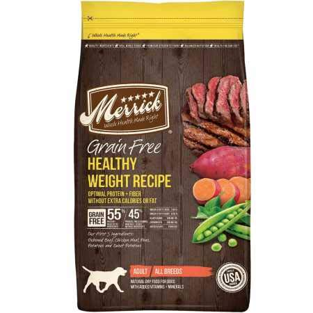 Merrick Grain Free Healthy Weight Recipe Dry Dog Food (25 lb)