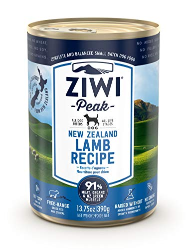 ZIWI Peak Canned Lamb Recipe Dog Food (Case of 12, 13.75 oz. each) (ZPCDL0390C-US)