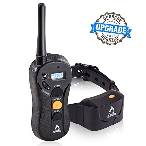PATPET Dog Training Collar - Upgraded 1000Yd Remote Range,Blind Operation Remote Controlled, Rechargeable &...