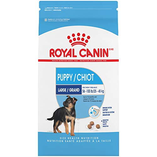 Royal Canin Large Puppy Dry Dog Food, 35 Lb