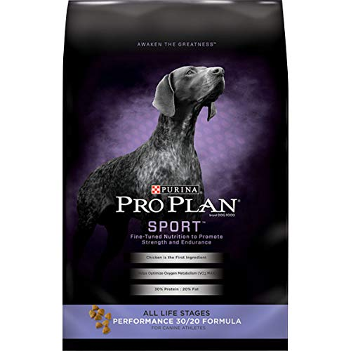 Purina Pro Plan High Protein Dry Dog Food, SPORT Performance 30/20 Formula - 18 lb. Bag