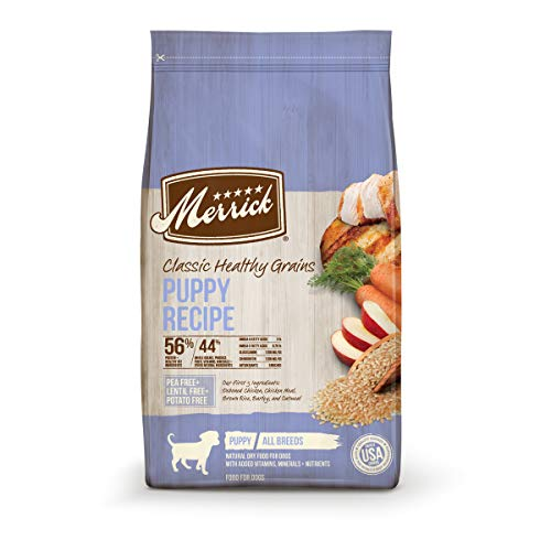 Merrick Classic Healthy Grains Dry Dog Food Puppy Recipe - 12.0 lb Bag