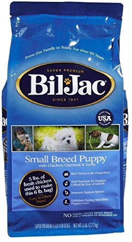 Bil Jac Small Breed Puppy Dry Dog Food