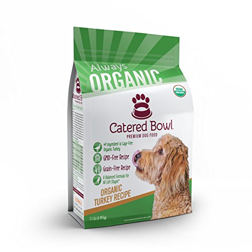 Catered Bowl Organic Turkey Pet Food for Dog, 11 lb