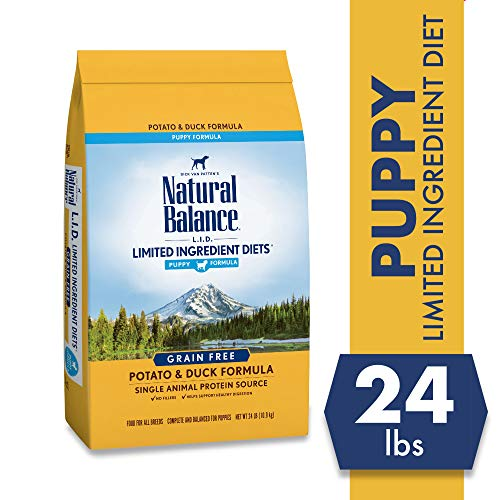 Natural Balance Limited Ingredient Diets, Potato & Duck Formula Dry Puppy Food, 24 Pounds
