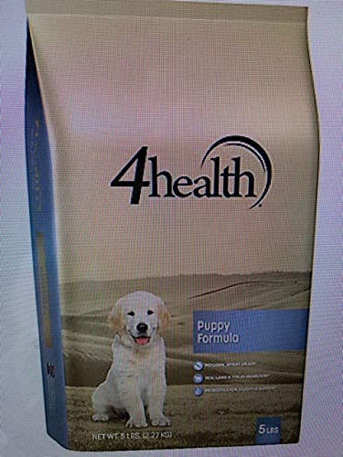 4health Tractor Supply Company, Puppy Formula Dog Food, Dry, 5 lb. Bag