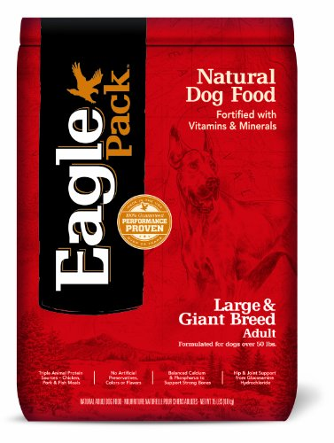 Eagle Pack Natural Pet Food, Large And Giant Breed Adult Formula For Dogs, Red, 15-Pound Bag, Red, 15-Pound Bag